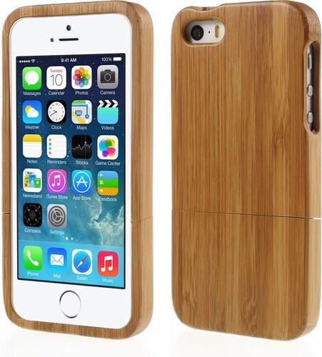 Pouzdro   kryt pro Apple iPhone 5   5S   SE - dřevěný - Glami.cz 0c116e8d030