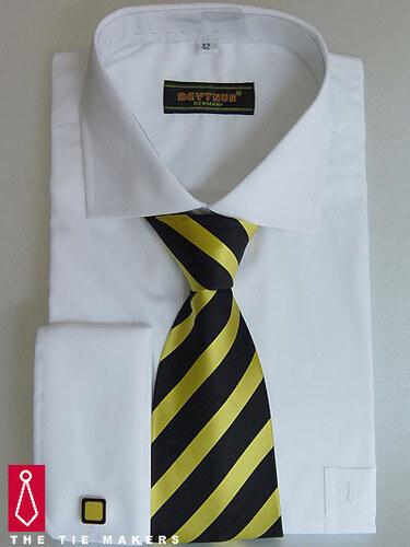 Bílá svatební košile Beytnur - na manžetové knoflíčky - Glami.cz 5e2a2bec57