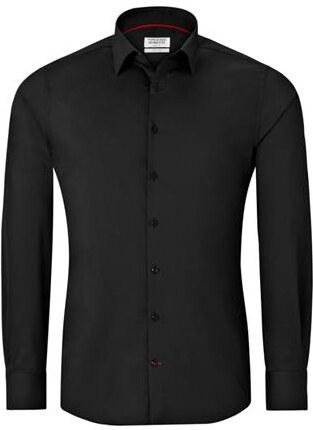 5fef4c2ac16 Vincenzo Boretti černá košile - Glami.cz
