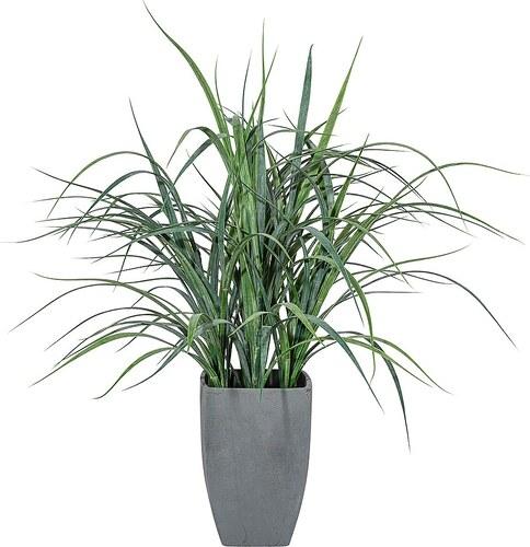 Kunstpflanze »Flussgras« inkl. Pflanzgefäß (H: 50 cm)