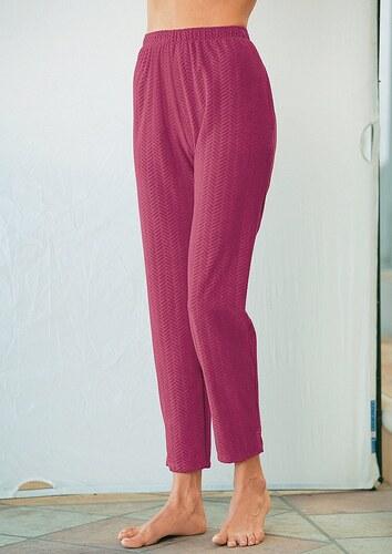 Nicki-Hose mit Struktur