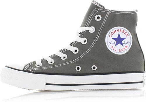 251098b1f47 Converse Dámske sivé vysoké tenisky Chuck Taylor All Star - Glami.sk