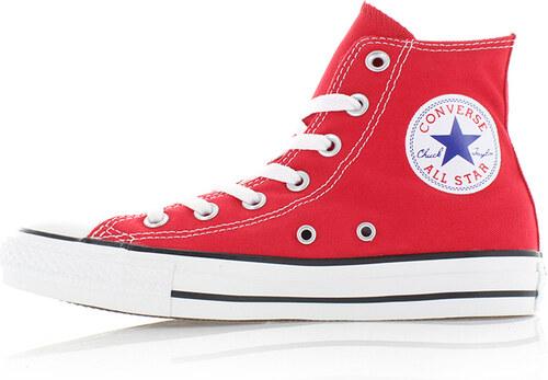 Converse Dámské červené vysoké tenisky Chuck Taylor All Star - Glami.cz d4b4f5ce96