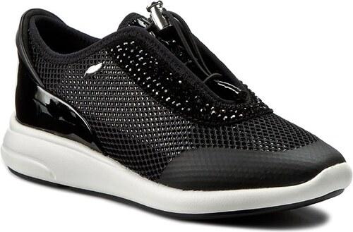 Sneakersy GEOX - D Ophira E D621CE 01402 C9999 Čierna - Glami.sk 9e4cad23a0