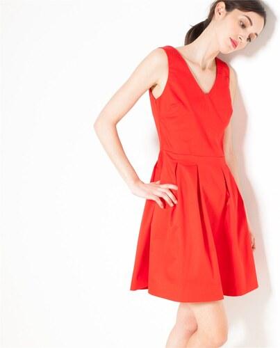 Camaieu robe rouge