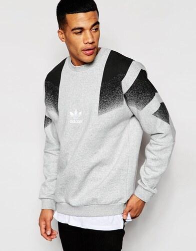 Adidas Originals - AJ7891 - Sweat rétro - Gris