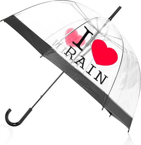 Tom Átlátszó esernyő I love rain - Glami.hu 5146d9c350