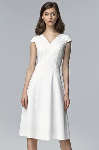 Nife Biele šaty S60 - Glami.sk e2544232c68