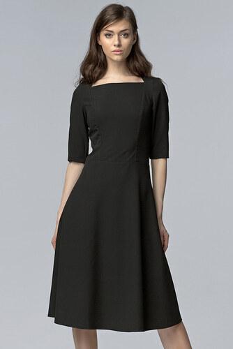 Nife Čierne šaty S63 - Glami.sk f8befe1b5f9