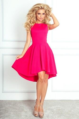 0abd99b1f0d SaF Asymetrické dámské šaty výrazně růžové Velikosti x  S - Glami.cz