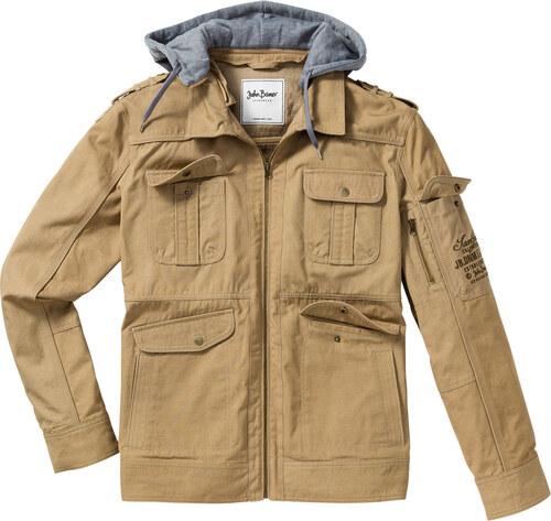 Regular Longues Marron Blouson Jeanswear John Fit Manches Baner wqv01gt