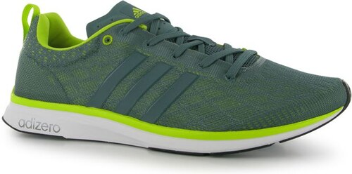 boty adidas adizero Feather 4 pánské Running Shoes Green Yellow ... fcc58bd700
