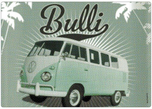 Spritzschutz »pop«, Bulli mint, 59x41 cm