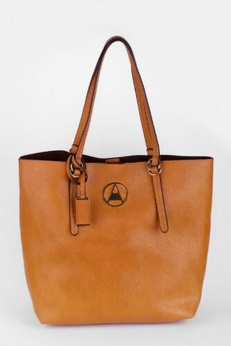 SAM 73 Shopper v koženém vzhledu BAWS16 09 brown - hnědá - Glami.cz d2904bcbd3