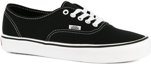 Dámské boty Vans Authentic lite + canvas black white 36 - Glami.cz ec7b2b1b6c1