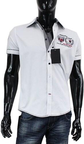CARISMA košile pánská 9018 krátký rukáv slim fit - Glami.cz 31836e958f