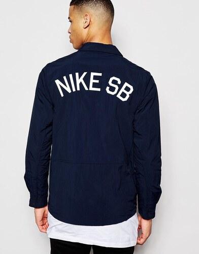 Nike SB - 724258-475 - Veste d'entraîneur - Bleu marine