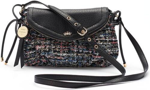 244612a09 Kabelka Juicy Couture crossbody purse black tweed - Glami.cz