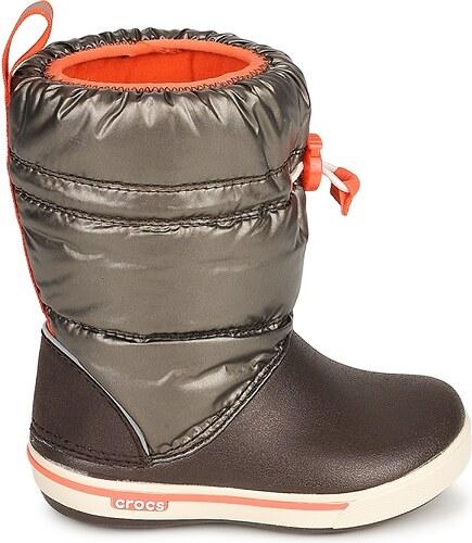 Crocs Zimní boty Dětské CROCBAND™ IRIDESCENT GUST BOOT KIDS Crocs ... e528ade7bf