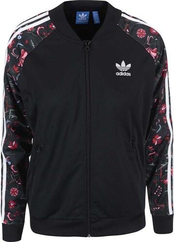 Černá dámská bunda adidas Originals Superstar - Glami.cz 73adaa93519