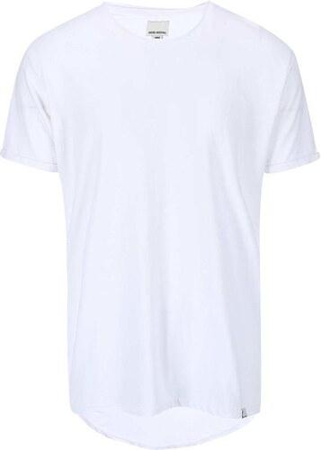Bílé triko s prodlouženou zadní částí Shine Original - Glami.cz 17f59c1582