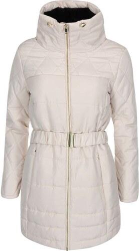Krémový prošívaný kabát Vero Moda Linea - Glami.cz c955ac03d3