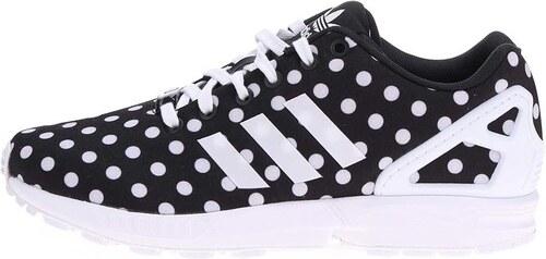 Černé dámské puntíkované tenisky adidas Originals Flux W - Glami.cz 4007ad5e3a2