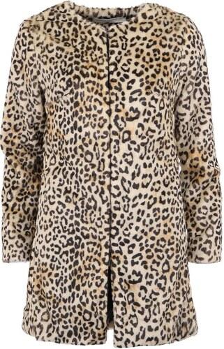 d7b20473f31 Leopardí kabát z umělé kožešiny YAYA - Glami.cz