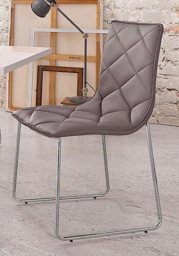 Stühle mit Kufenfüßen (2 Stück)