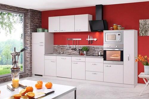 Küchenzeile mit E-Geräten »Kansas«, Breite 370 cm