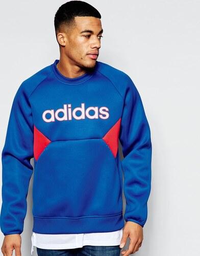 Adidas En Rétro Sweat Néoprène Bleu Originals Aj7376 RTqRxwaz