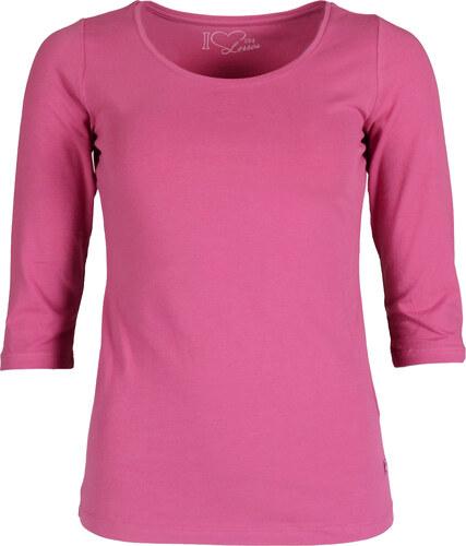 65f7fb0be53 Dámské růžové tričko LERROS Basic - Glami.cz