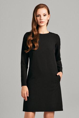 Černé šaty Misebla MSU0044 - Glami.cz 41f09537e8