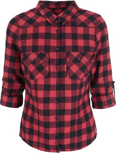 0be5d23e50c Červená kostkovaná košile Haily´s Sherley - Glami.cz