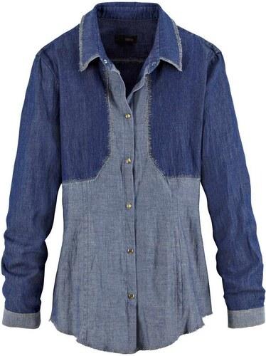 Značková dámská riflová košile 16ea8a1b02