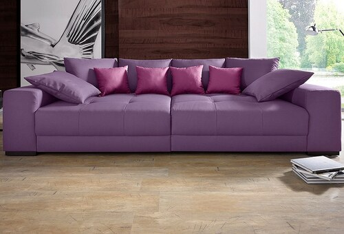 Big-Sofa mit Boxspringunterfederung