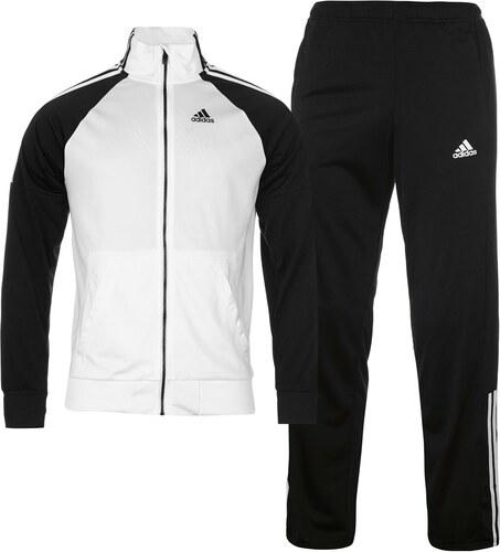 Sportovní souprava adidas Riberio pán. bílá černá - Glami.cz 3c9292b40d