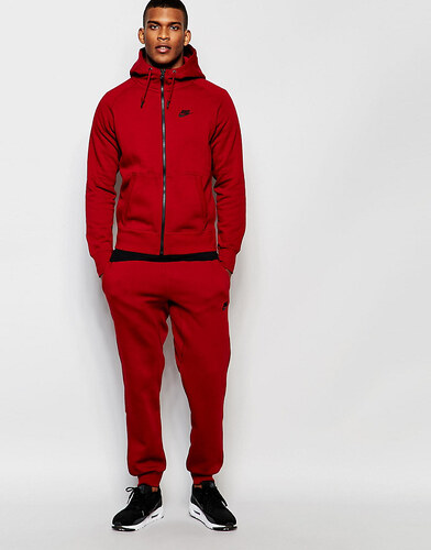 jogging nike rouge bordeau
