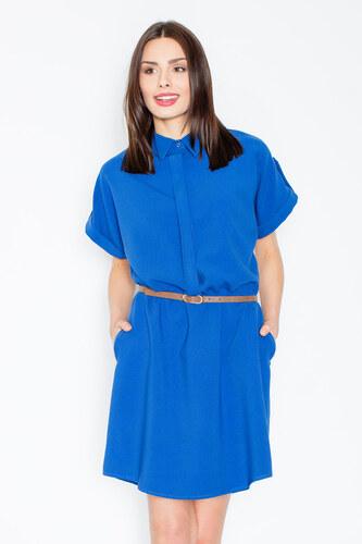 a68cbb7ae523 Figl Modré šaty M442 - Glami.sk