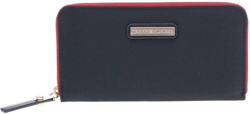 3d69236483c Modrá peněženka Tommy Hilfiger Poppy Large - Glami.cz
