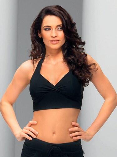 Fitness top Doda II black