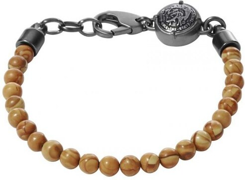 bracelet perle homme diesel
