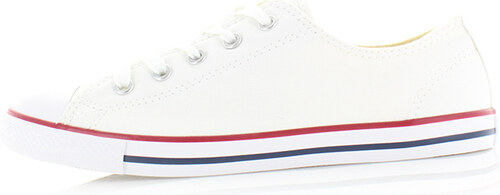 1b10a0f9c08 -25% Converse Dámské bílé nízke tenisky Chuck Taylor All Star Dainty