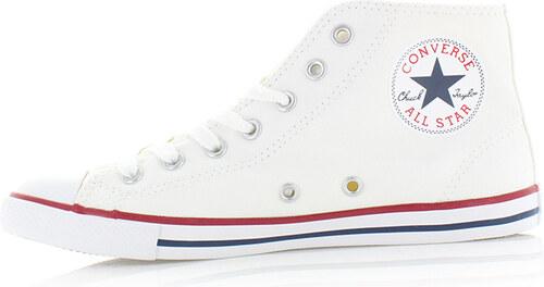 Converse Dámské bílé vysoké tenisky Chuck Taylor All Star Dainty ... 452127a3cf