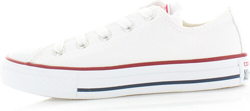Converse Dětské bílé nízke tenisky Chuck Taylor All Star - Glami.cz 853119e7cbf