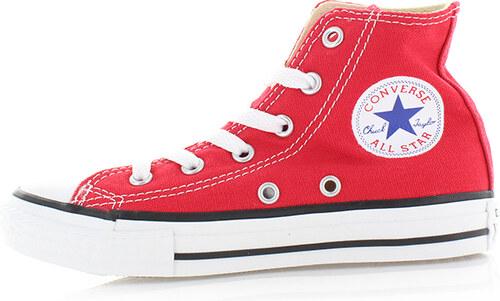 915672088661f7 Converse Dětské červené vysoké tenisky Chuck Taylor All Star - Glami.cz