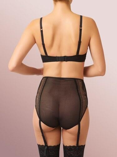 451220f8bea Britney Spears Intimate Kalhotky s vysokým pasem a podvazky BRITNEY SPEARS  Elma černé - 36