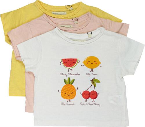 lesara m dchen t shirt mit fr chte print rosa 98. Black Bedroom Furniture Sets. Home Design Ideas