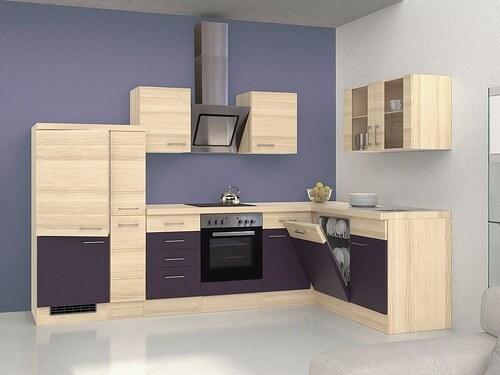 Winkel-Küchenzeile mit E-Geräten »Portland«, Breite 310 x 170 cm