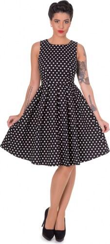 e44e71c4da8 Černé puntíkaté šaty Dolly and Dotty Lola - Glami.cz